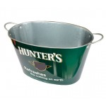 hunter's galvanized big metal beer buckets