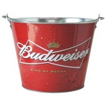 bud light beer buckets producer