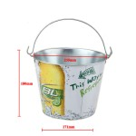 5L drinks promotion storage bucket in 180mm height