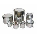0.5L-5L Round Metal Chemical Paint Cans, Monotop Can