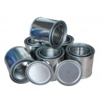 Black Color Solid Shoe Polish in Tin Case