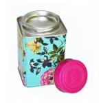 SQ19-OEM Tea Packing Tin Box, Rose Flower Matel Packing Tin Can, Sugar Gift Storage