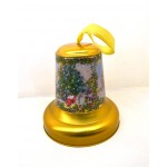 IR12-Christmas tin bell,Metal jingle bell can