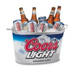 metal coor light beer ice bucket wholesale